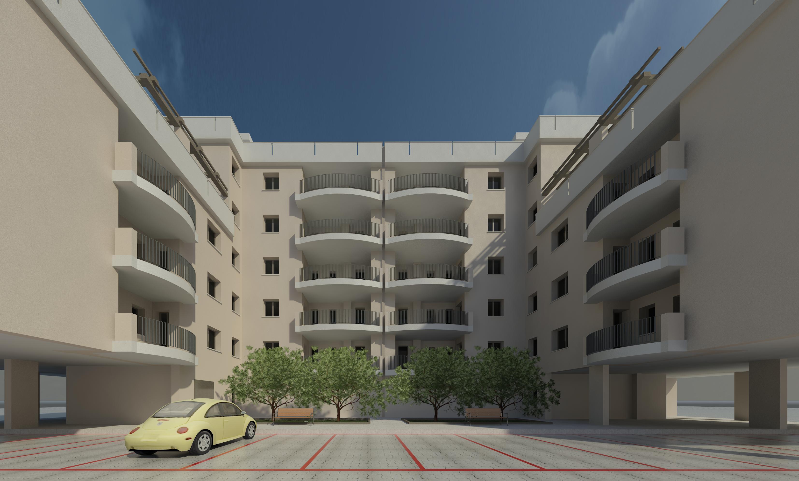 35 appartamenti in corso di costruzione su Viale Unità d'Italia